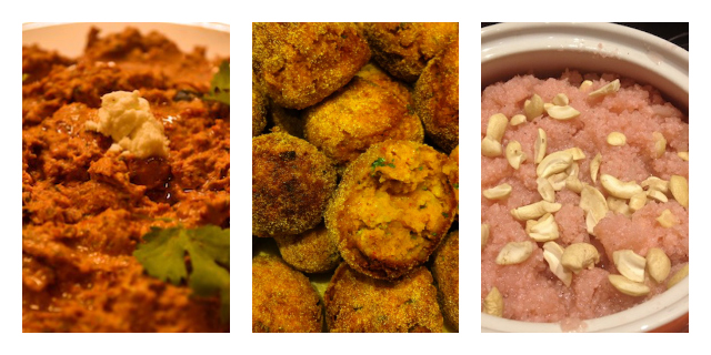 Parsi Food collage