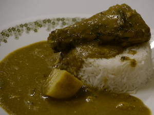 Parsi Green Curry