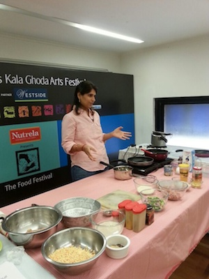 Kala Ghoda 2014 Parsi food workshop