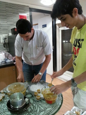 Bawa Groom at Parsi Food Workshop