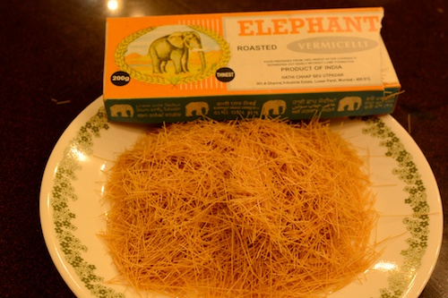 Crush Elephant brand vermicelli for Parsi Sev