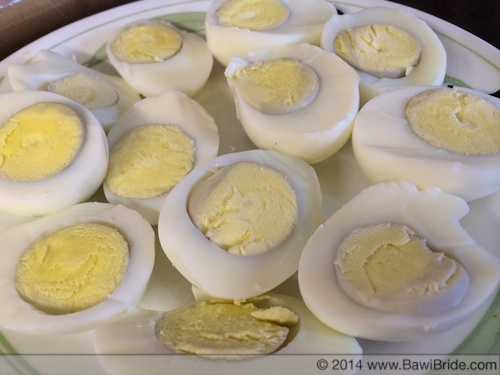 Boiled Eggs for Pulao