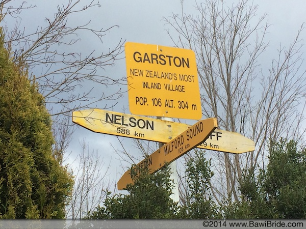Garston - a small town that has fewer people in the entire town than your average residential society in India