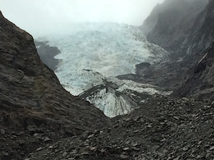 Franz Josef Glacier close up