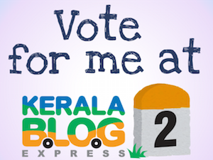 Hopping onto the Kerala Blog Express