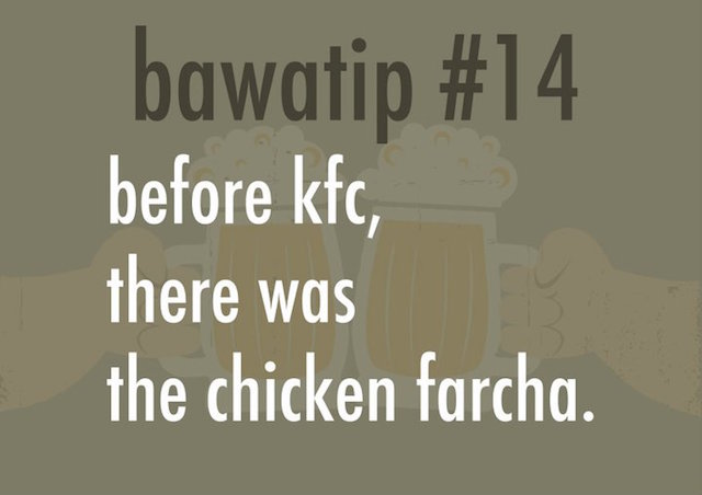 Bawa Tip: Before KFC there was the chicken farther
