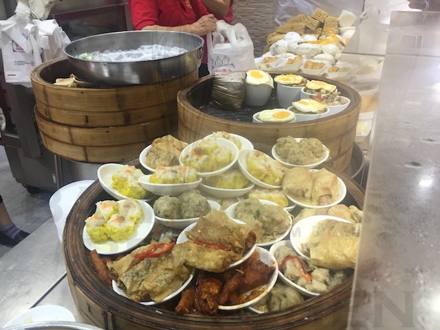 Dim Sum in Wet Market