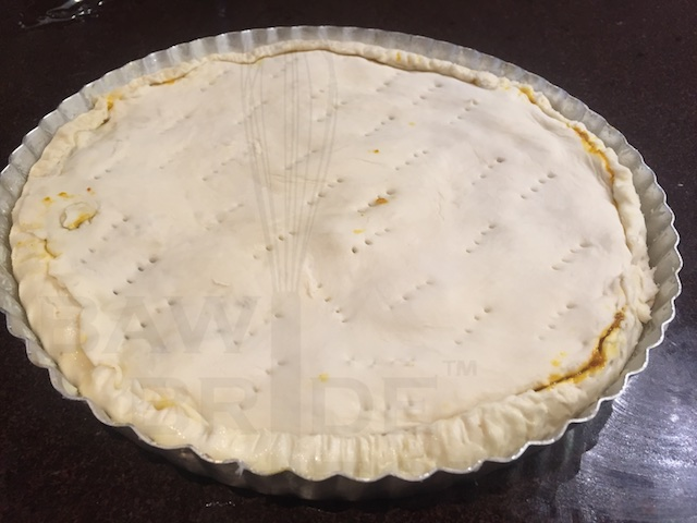 Bake the Mango Mutton pie