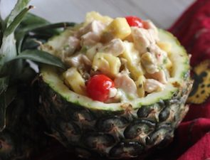 Chicken Pineapple Mayo Salad_300x225